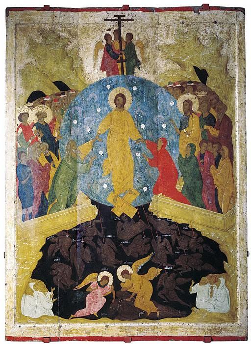 Dionysius (ок.1440-1502) -- Дионисий и мастерская. Воскресение Христово. Orthodox Icons