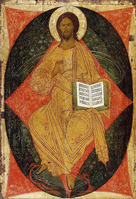Dionysius (ок.1440-1502) -- Спас в силах. Orthodox Icons