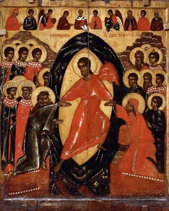Псковская школа. Воскресение Христово. Orthodox Icons