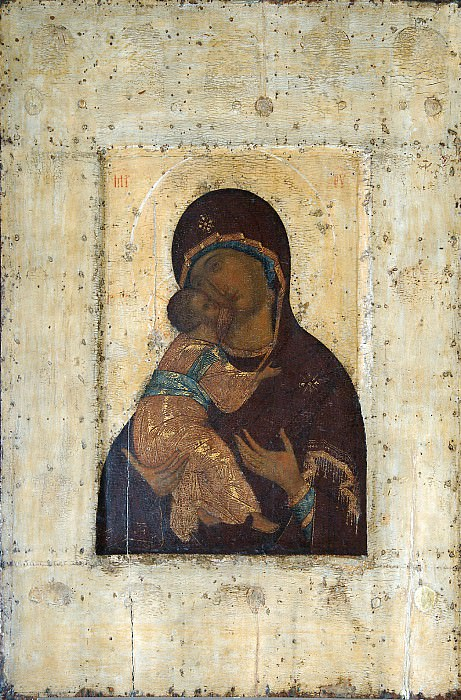 Андрей Рублёв (1360-е - 1430) -- Владимирская икона Божией Матери. Иконы