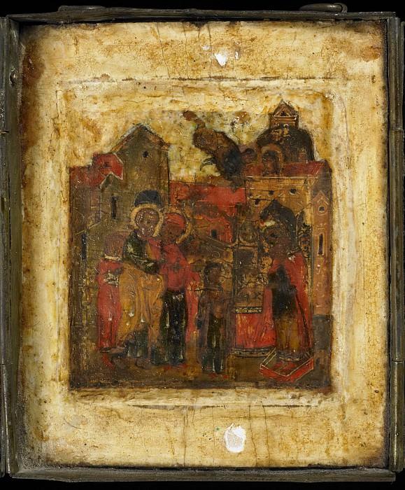 Триптих 2. Введение Богородицы во храм. Иконы