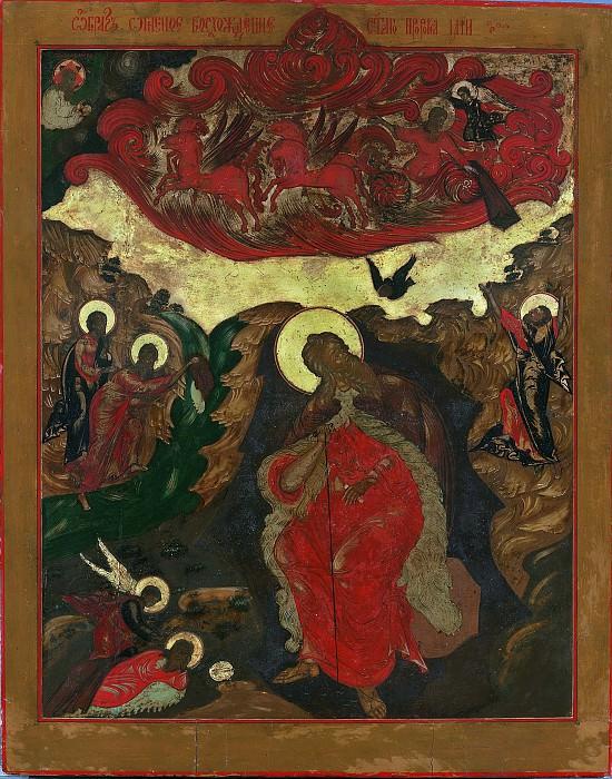 Огненное восхождение пророка Илии. Orthodox Icons
