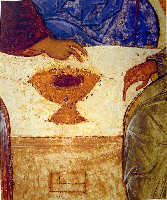 Andrei Rublev (1360-е - 1430) -- Троица. Orthodox Icons