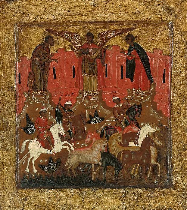 Святые Флор и Лавр. Orthodox Icons