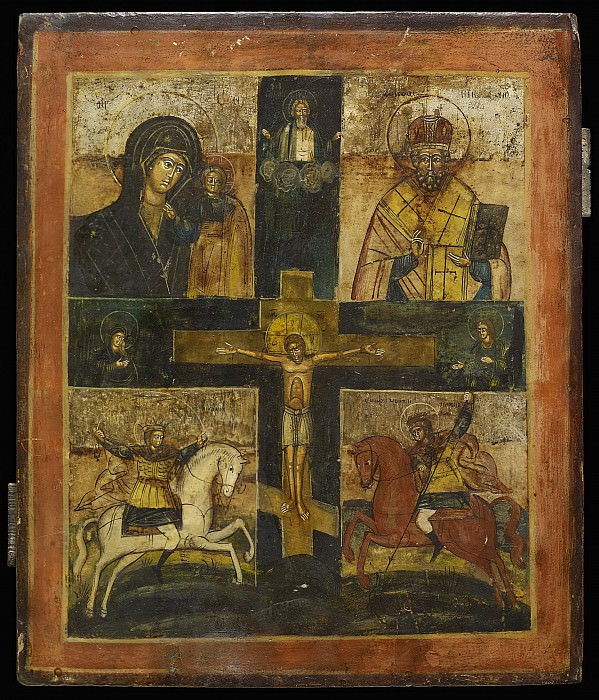 Четырехчастная. Orthodox Icons