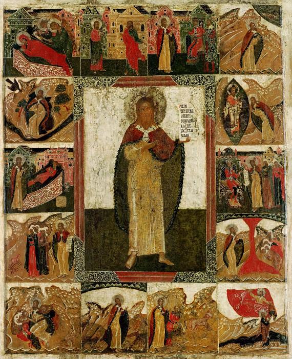 Святой пророк Илия с житием. Иконы