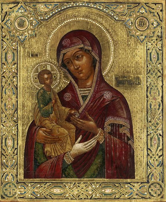 Икона Божией Матери Троеручица. Иконы