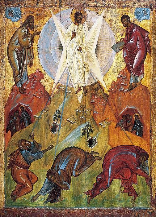 Feofan Grek (ок.1340 - ок.1410) -- Преображение Господне. Orthodox Icons