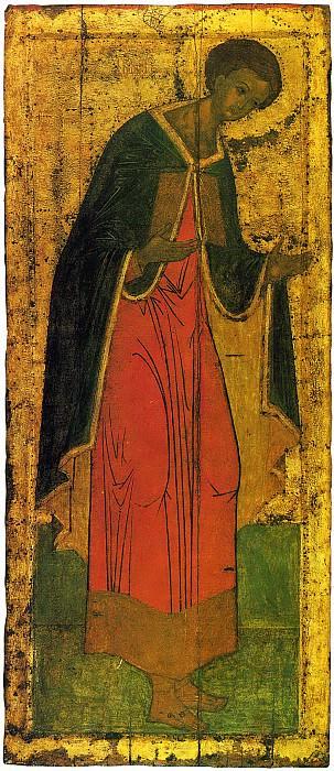 Андрей Рублёв (1360-е - 1430) -- Деисусный чин Троицкого собора Троице-Сергиевой лавры. Иконы