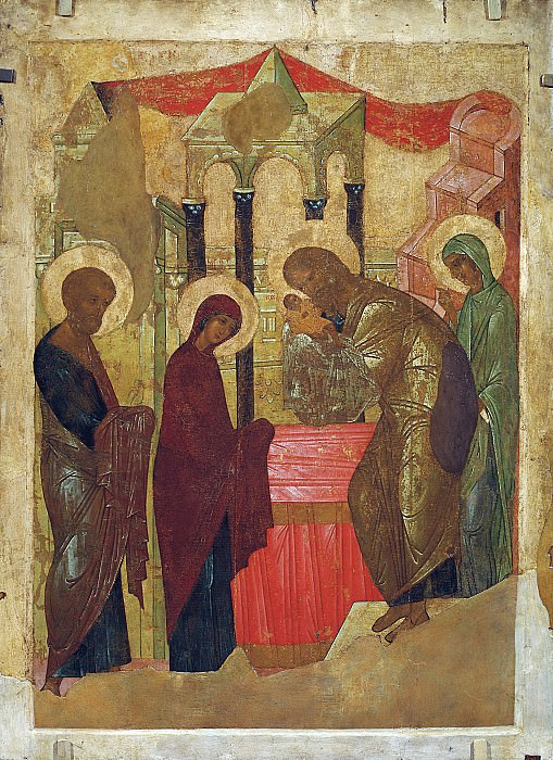 Andrei Rublev (1360-е - 1430) -- Сретение. Orthodox Icons