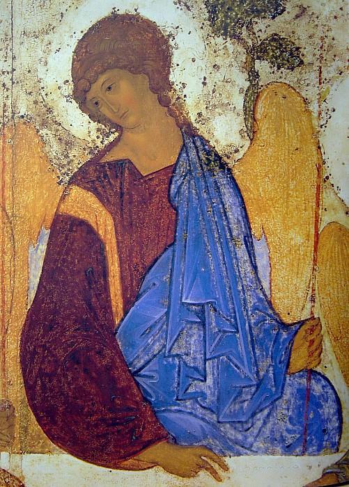 Андрей Рублёв (1360-е - 1430) -- Троица. Иконы