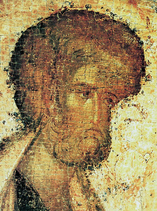 Феофан Грек (ок.1340 - ок.1410) -- Деисусный чин Благовещенского собора Московского кремля. Апостол Пётр. Иконы