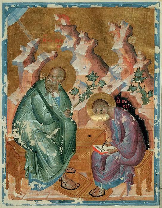 Andrei Rublev (1360-е - 1430) -- Евангелист Иоанн. Orthodox Icons