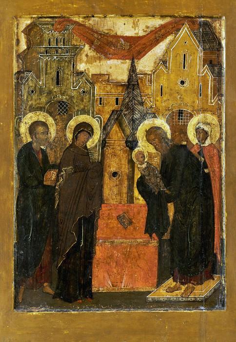 Сретение Принесение во храм. Иконы