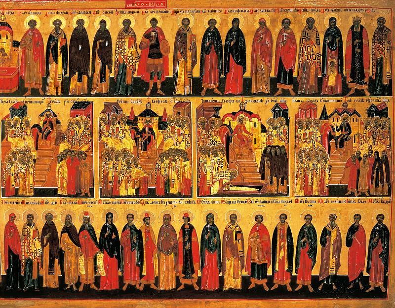Семь вселенских соборов. Orthodox Icons