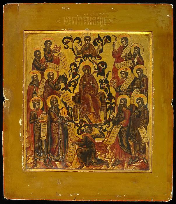 Похвала Пресвятой Богородице. Orthodox Icons