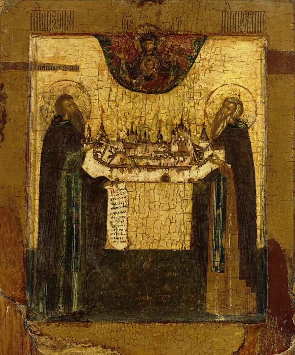 Святые Савватий и Зосима Соловецкие. Orthodox Icons