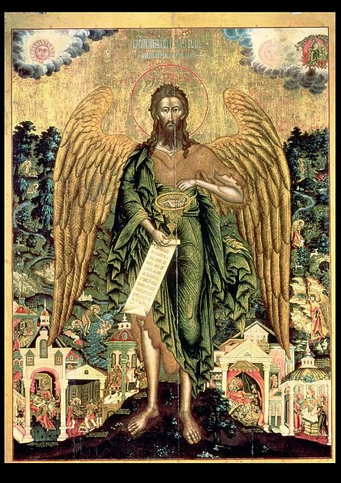 Святой Иоанн Предтеча Ангел пустыни. Иконы