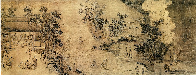 Ma He Zhi. Chinese artists of the Middle Ages (马和之 - 豳风图(部分))