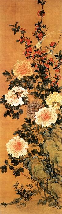 Zhang Jie. Китайские художники средних веков (张杰 - 花鸟图)