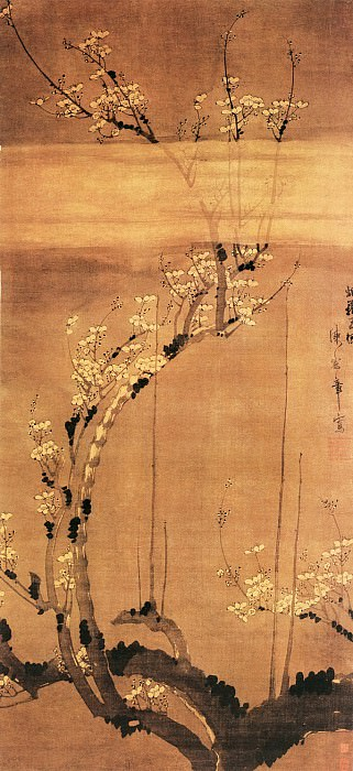 Chen Lu. Chinese artists of the Middle Ages (陈录 - 烟笼玉树图)