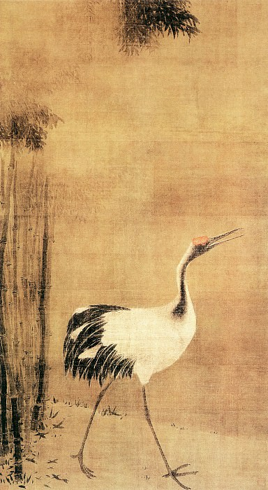 Fa Chang. Chinese artists of the Middle Ages (法常 - 鹤图)
