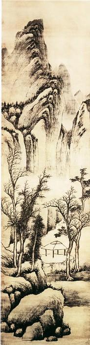 Luo Mu. Китайские художники средних веков (罗牧 - 秋林孤亭图)