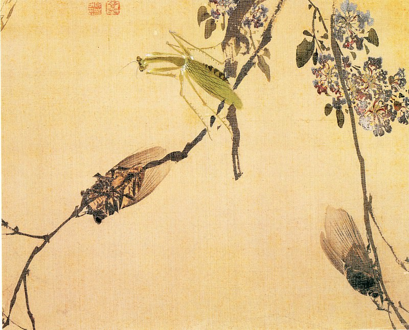 Yuan Yao. Chinese artists of the Middle Ages (袁耀 - 花卉图)