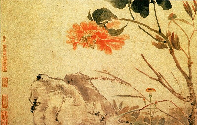 Song Guangbao. Chinese artists of the Middle Ages (宋光宝 - 花鸟图(之—、二))