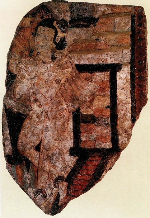 """Unknown. Chinese artists of the Middle Ages (佚名 - 佛传""""幼儿布施""""图)"""