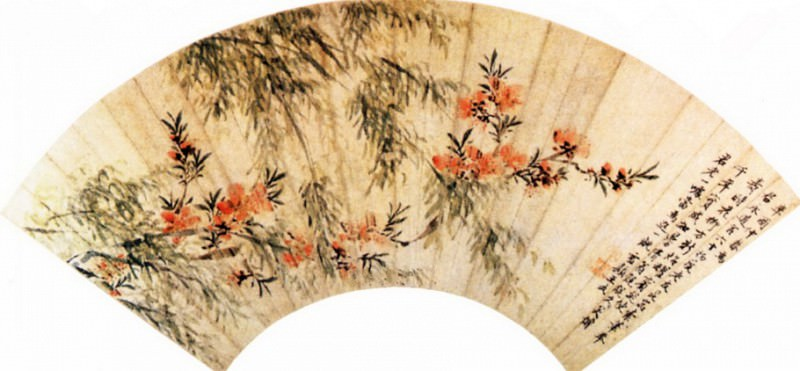 Wang Wu. Chinese artists of the Middle Ages (王武 - 春柳桃花图)