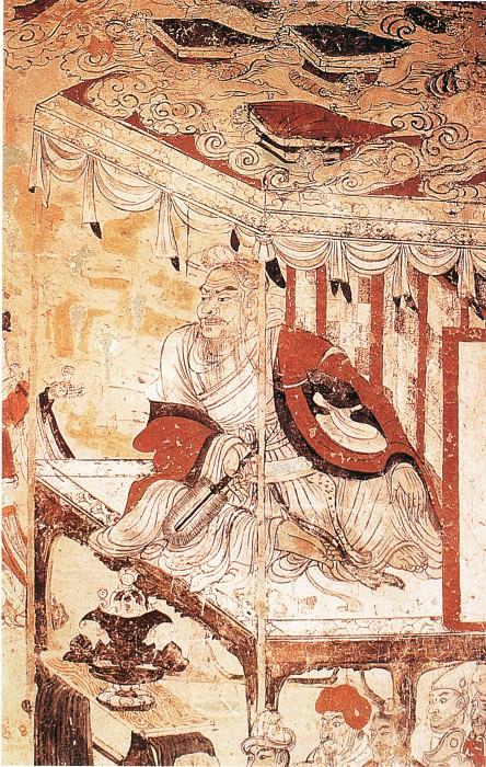 Unknown. Китайские художники средних веков (佚名 - 维摩诘图)