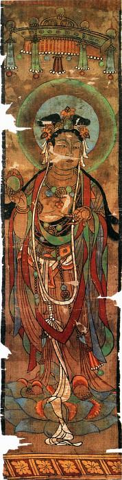 Unknown. Китайские художники средних веков (佚名 - 菩萨像)