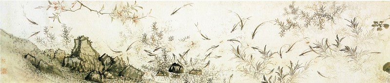 Wang Qiao. Chinese artists of the Middle Ages (王翘 - 鱼藻图)