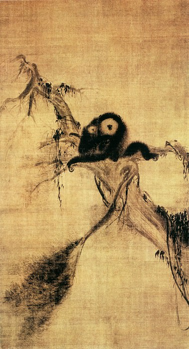 Fa Chang. Chinese artists of the Middle Ages (法常 - 猿图)