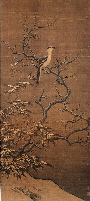 Li Di. Chinese artists of the Middle Ages (李迪 - 雪树寒禽图)