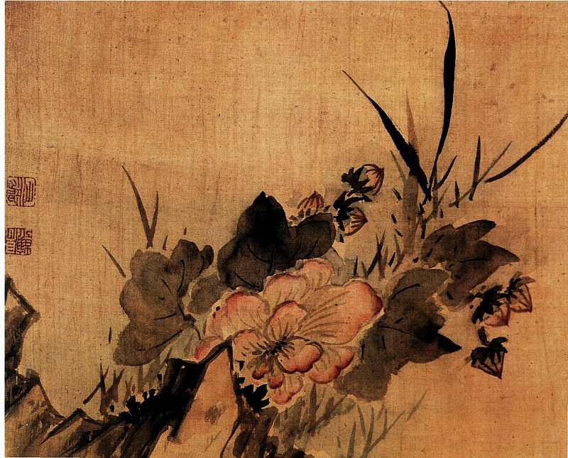 Gao Feng Han. Chinese artists of the Middle Ages (高风翰 - 杂画图(之一、二))