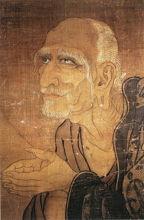 Unknown. Chinese artists of the Middle Ages (佚名 - 十六罗汉图(部分))