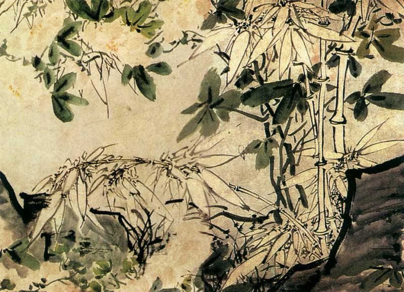 Xu Lin. Китайские художники средних веков (徐霖 - 花卉泉石图)
