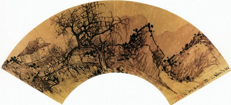 Gao Cen. Китайские художники средних веков (高岑 - 金陵八家扇面)