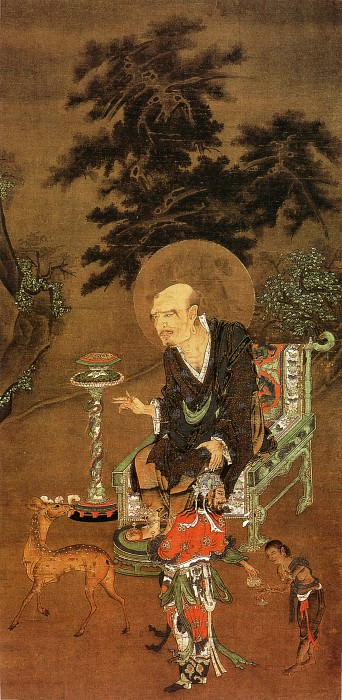 Unknown. Chinese artists of the Middle Ages (佚名 - 罗汉图)