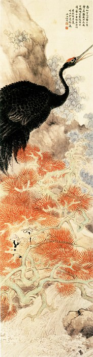 Ren Yi. Chinese artists of the Middle Ages (任预 - 花鸟图)