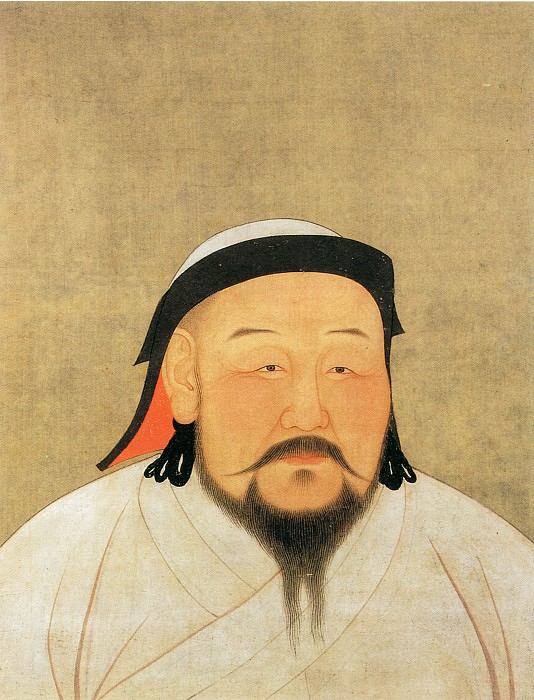 Unknown. Chinese artists of the Middle Ages (佚名 - 元世祖像)