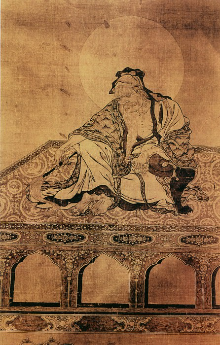 Unknown. Chinese artists of the Middle Ages (佚名 - 维摩诘像)