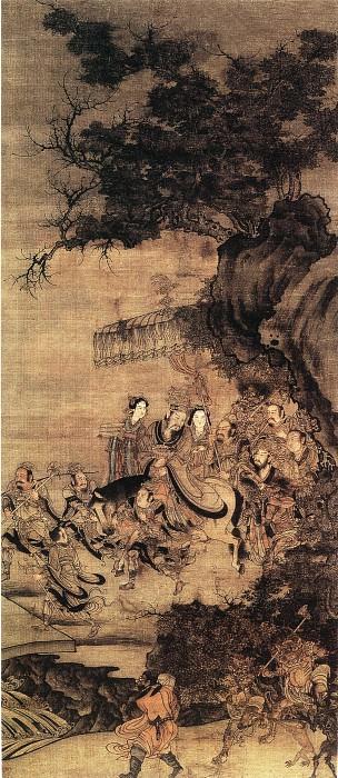 Unknown. Китайские художники средних веков (佚名 - 地官图)