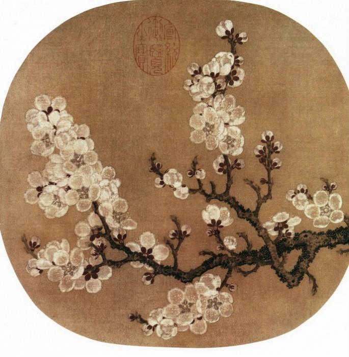 Zhao Chang. Китайские художники средних веков (赵昌 - 杏花图)