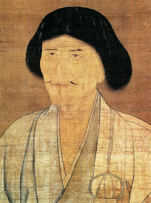Zhao Yong. Chinese artists of the Middle Ages (赵雍 - 高峰原妙禅师像'部分,)