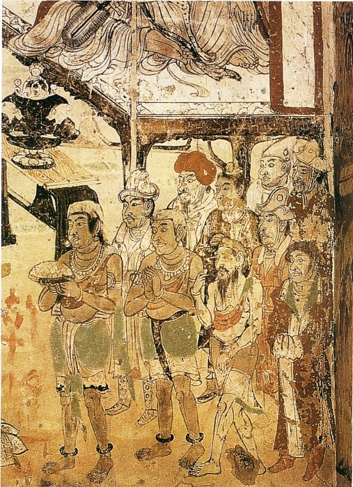 Unknown. Chinese artists of the Middle Ages (佚名 - 各国供养人)