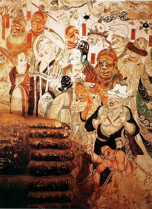 Unknown. Chinese artists of the Middle Ages (佚名 - 各国王子图)