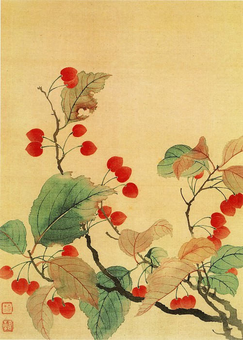 Yun Shouping. Chinese artists of the Middle Ages (恽寿平 - 花卉图)